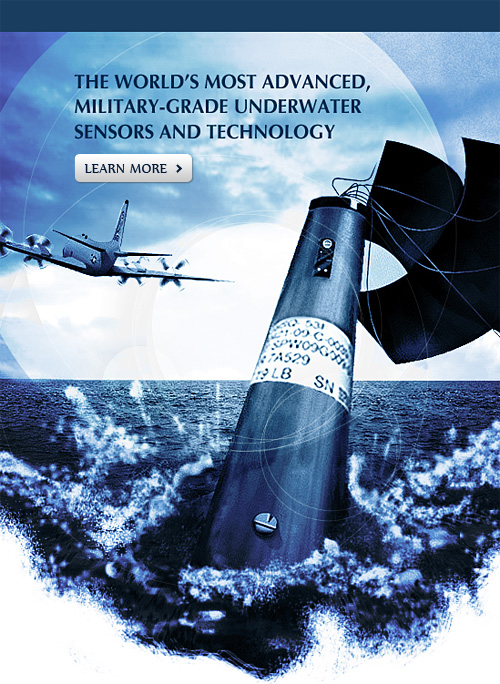 THE WORLDS MOST ADVANCED, MILITARY-GRADE UNDERWATER SENSORS AND TECHNOLOGY